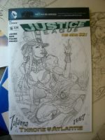 Zatanna cover SDCC 2013 by MichaelDooney