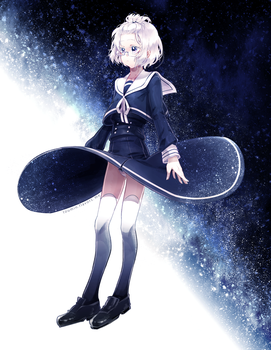Starry Skirt by toumin