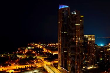 Chicago Penthouse View by Arctic-RevoIution