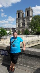 Tubich In Paris: In front of the Notre Dame by tubi4