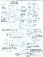 How To Draw Sonic 2 by CaribbeanPulse