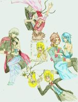 together_always .:COLORED:. by sorandkiari