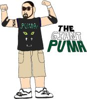 USWF: The Giant Puma by jamesgannon