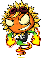 PVZHeroes - Solar Flare by DevianJp824