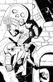 Atomic Robo + Hellboy-swegener by TheDeviantMakepeace