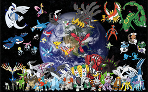 Legendary Pokemon