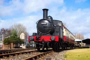 GWR 1400 Class 0-4-2T by Daniel-Wales-Images