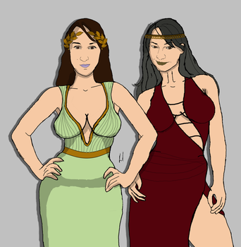 My Muses V2 by docwinter
