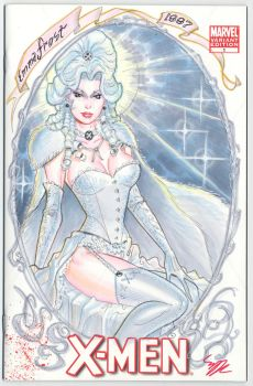 Emma Frost 1887 color by MichaelDooney