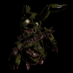 Springtrap Stare by Wolf-Shadow77