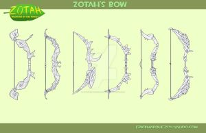 Zotah's Bow by TheInsaneDingo
