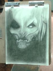Monster Face final COMPLETE by DesertFiend