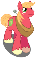 Big Macintosh - Blowing in the Wind by BobtheLurker