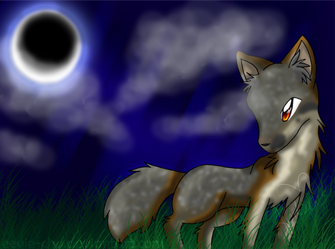 Moonlight on Channel Island by Ambunny