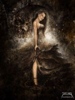 Untitled Lady by jarling-art
