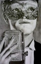 Brendon Urie Drawing by Dottycookie