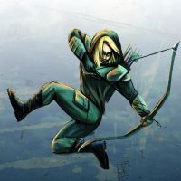 Green Arrow by StereoiD