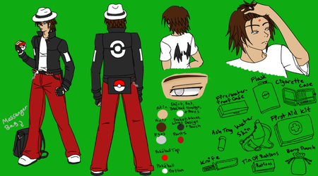 Updated Teen Mich Ref by Aisuryuu
