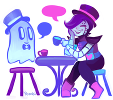 Dapper Tea Party by ivymaid
