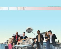 Seattle Grace Staff parting by katychan83
