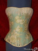 Victorian Fashion Corset by rabidfanboy