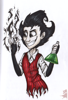 Wilson (Don't Starve) by DrLamiaCrow