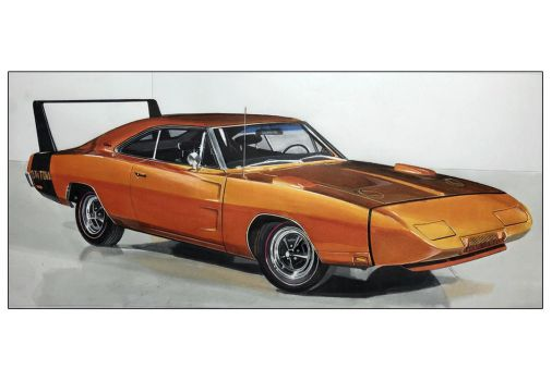dodge charger daytona helical wind by Stephen59300