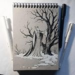 Instaart - First snow in the Mirkwood by Candra