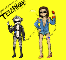 APH - TELEPHONE by DinoTurtle