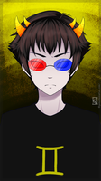 Homestuck - Sollux Captor by Reishichi