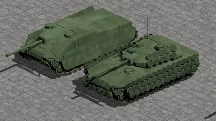 Heavy Tank Past and Present by wbyrd