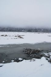 Winter Lake 4 by prints-of-stock