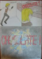 Mello needs chocolate by CerseiDM