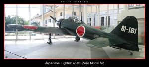 Japanese A6M5 Zero Model 52 by Keith-Killer
