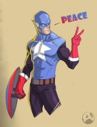 Captain Peace by COLOR-REAPER