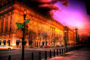 DC Evening by pomper