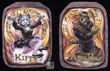 Adal and Kippy BLFC 2018 Badges by ashkey