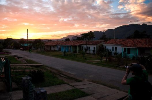 Sunset in Vinales by Dje514