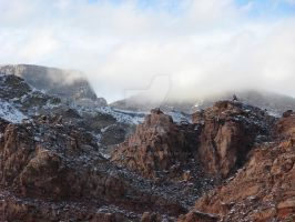Red Rock White Out III by southwesternscenery