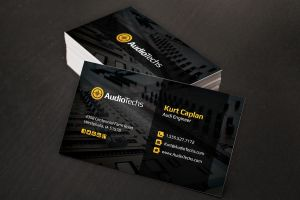 Audio Producer Business Cards by xstortionist