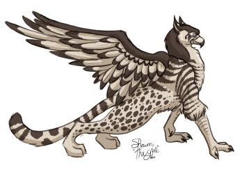 Speed Griffon by swankyimage