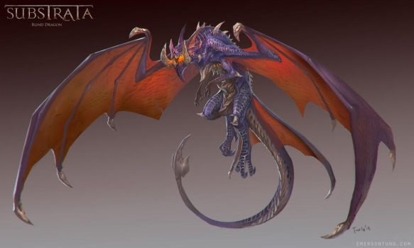 Substrata - Blind Dragon by emersontung