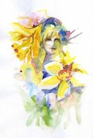 Daffodil-springflowers-01 by Joinerra