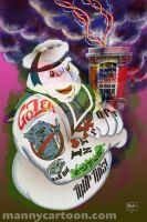 Stay Puft Containment Ink Tats by mannycartoon