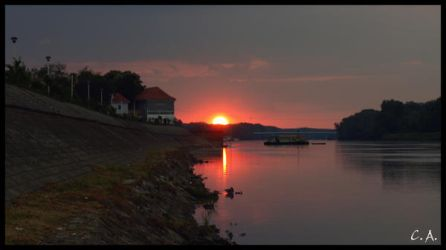 As the sun goes down by CorriX