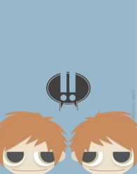 HbM oo1: Hitachiin Brothers -PRINT AVAILABLE- by Q-pon