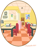 HLT - The Yellow Submarine - Inside The Cafe/Deli by CJizzlelette