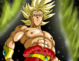 Young Broly by ShynTheTruth