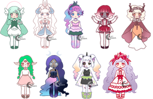 Adopts | OPEN by lesimoon