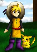 Child of Viridian - Yellow by pdutogepi